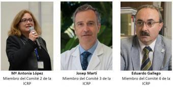 Nuevos miembros españoles en los comités de la ICRP