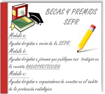 Ayudas, becas y premios por parte de la SEPR - 2019.