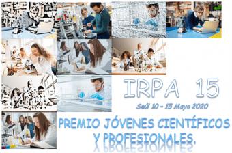 Premio Jóvenes Científicos y Profesionales - IRPA 15
