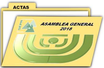 CONVOCATORIA DE ASAMBLEA GENERAL ORDINARIA DE LA SEPR 2018